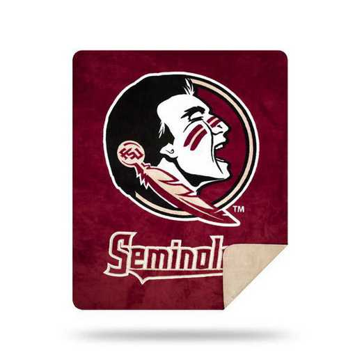 1COL361000015RET: NW SLIVER KNIT THROW, Florida State